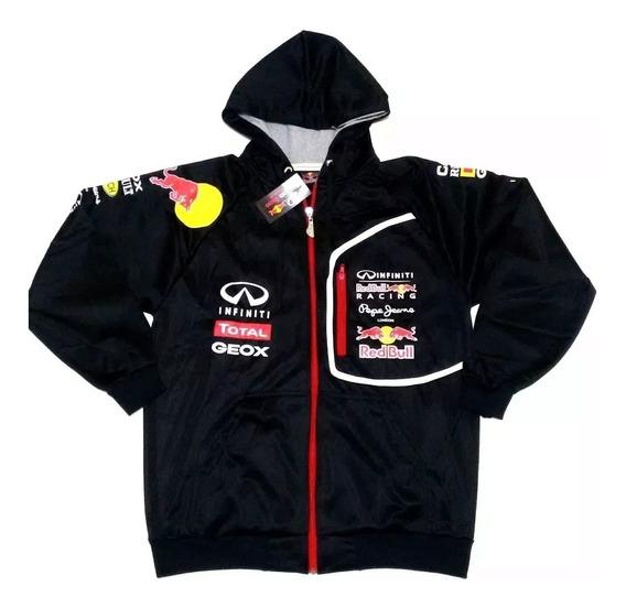 Blusa Agasalho Jaqueta Red Bull Infiniti F1 Com Capuz Top .