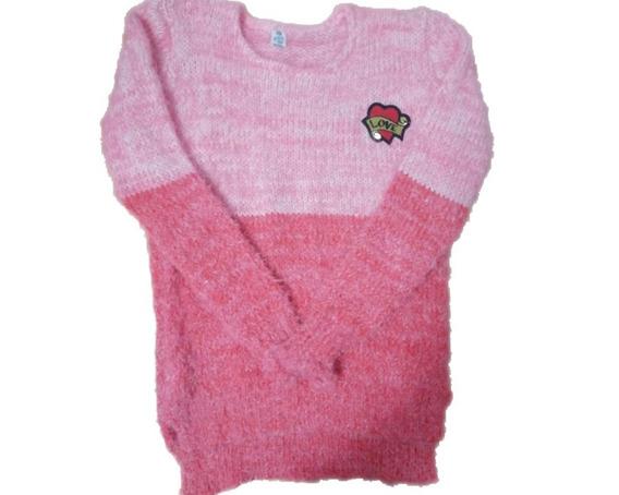 Pullover Buzo Sweater Pelo De Mono Nena