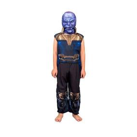 Disfraz De Thanos C/ Luz Talle 0 Original New Toy
