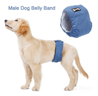 Lavable Masculino Perro Vientre Banda Wrap Impermeable Para