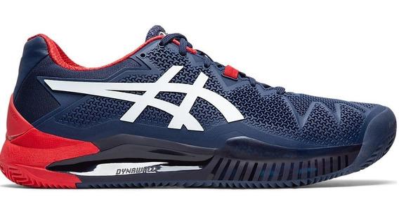 Asics Zapatillas Tenis Hombre Resolución 9 Clay Azul Marino
