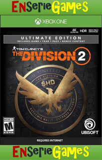 Tom Clancys The Division 2 Ultimate Xbox One Online-offline