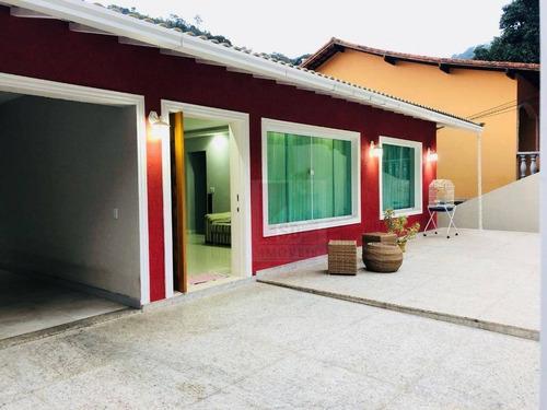 Casa Com 3 Dormitórios À Venda, 247 M² Por R$ 900.000,00 - Quinta Da Barra - Teresópolis/rj - Ca0406