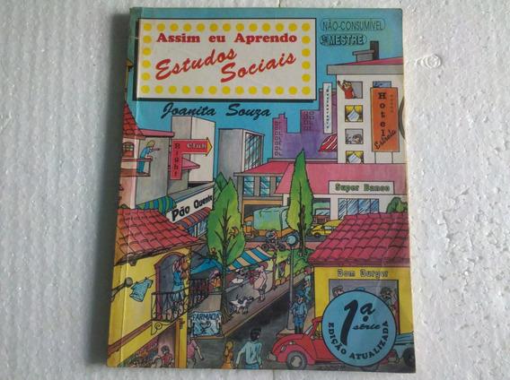 Livro Assim Eu Aprendo Estudos Sociais 1ºsérie Joanita Souza