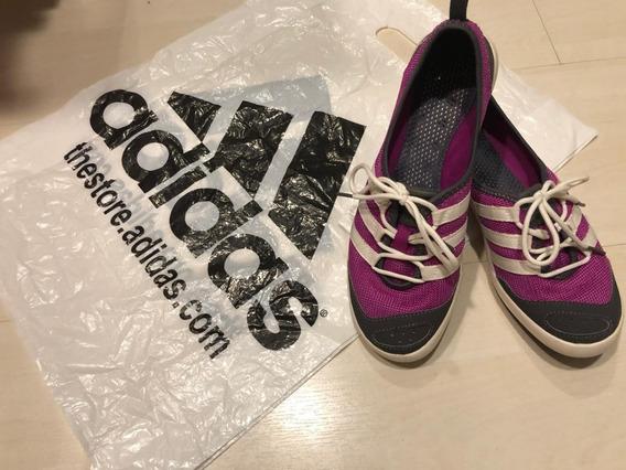 Tênis adidas Climacool Boat Sleek Feminino Lilas - Tam 35