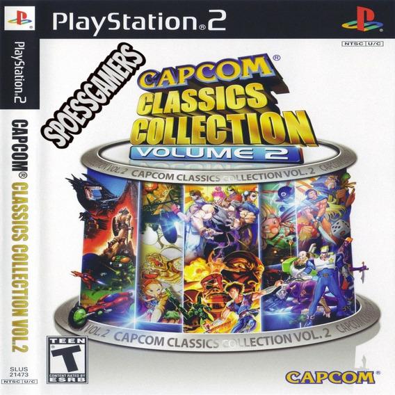 Capcom Classics Collection Vol. 2 Ps2 Patch Luta