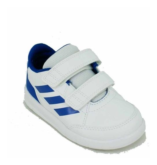 Zapatilla adidas Altasport Blanco/azul Bebe Deporfan