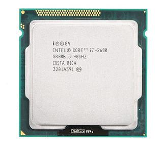 3*procesador Intel Core I7-2600 3.4ghz 8mb Lga 1155 (usado /