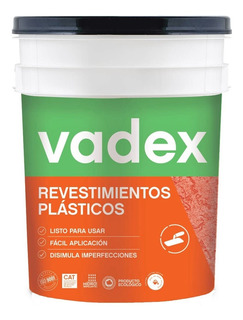 Revestimiento Vadex Texturable Fino Blanco/base 25k - Rex