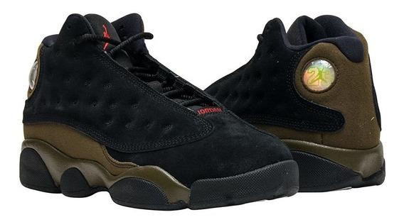 Nike Air Jordan Retro 13 Bp Olive Mayma Sneakers
