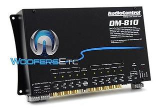 Audiocontrol Dm810 8 Por 10 Canales De Procesador De Señal