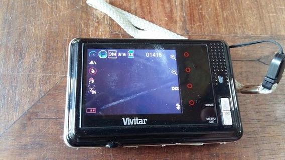 Câmera Digital Vivitar Hd, 8,1 Mega Pixels