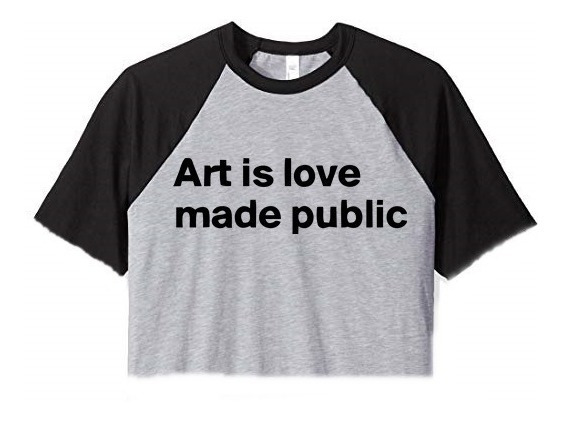 Remera Art Is Love Sense 8 Tops Pupera