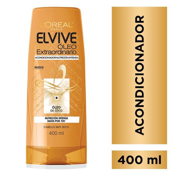 Elvive Enjuague Oleo Extraordinario Coco X400 Ml