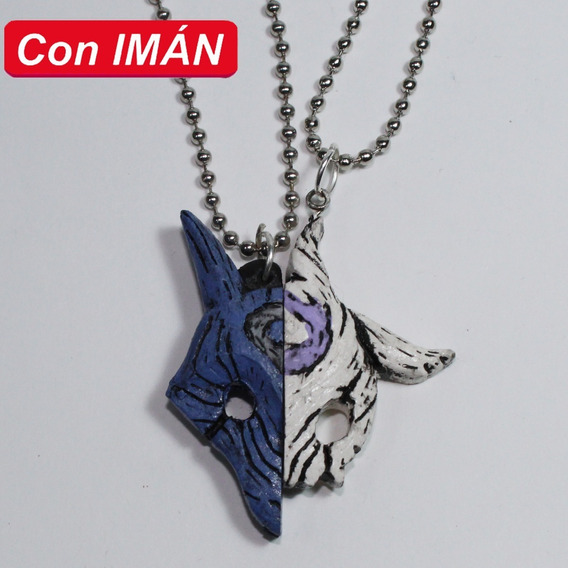 Collar De Kindred Con Imán Black League Of Legends Amor