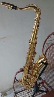 Saxofone Tenor Yamaha Profissional Modelo Yts-62e Semi-novo