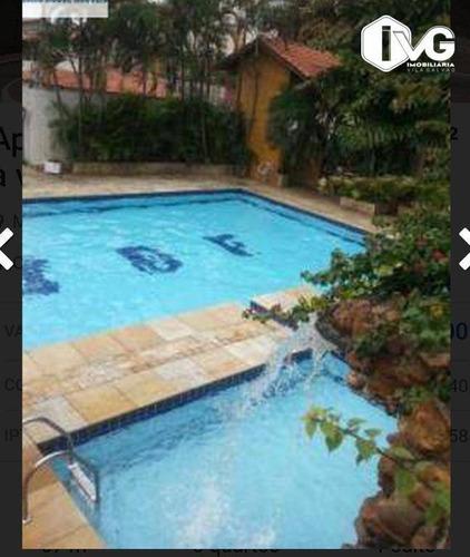 Apartamento Com 3 Dormitórios À Venda, 68 M² Por R$ 320.000,00 - Macedo - Guarulhos/sp - Ap2407
