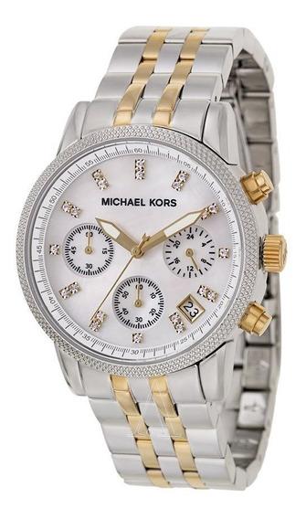 Relógio Michael Kors Feminino Mk5057/5bn Misto - Caixa