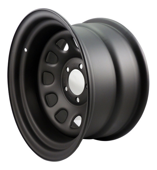 Roda Aro 15 Daytona 15x8 5x139,7 Aço Offset -35 Jeep Willys