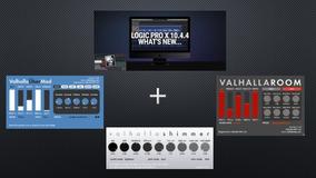 Combo Logic Pro X 10.4.4 Atualizado + Valhalla Dsp Osx