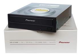 Drive Gravador Dvd E Cd Pioneer 24x Sata - Dvr-s21wbk