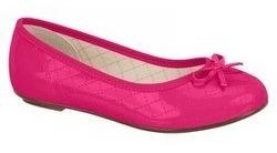 Sapatilha Infantil Menina Molekinha 2052.337 Verniz Pink