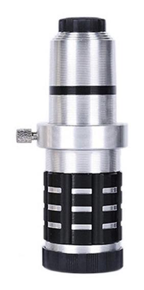 12 Vezes Universal Zoom Metal Telescópio Telescópio Celular