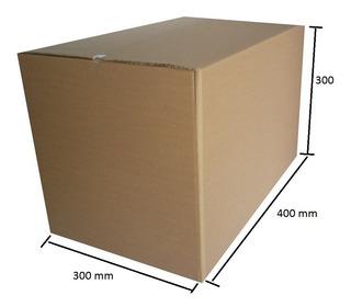 Caixa P / Mudanças 40x30x30 - Pacote 50 Unidades + Frete Sp