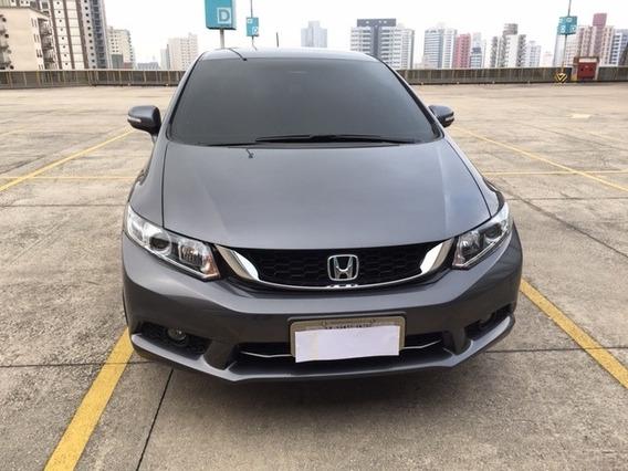 Honda Civic Sedan Lxr 2.0 Flexone 2016 16v Aut. 4p Completo