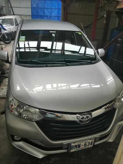 Toyota Avanza 21017 Como Nuevo