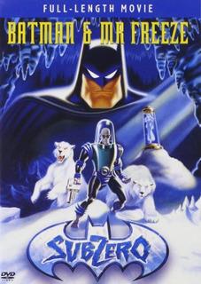 Dvd : Batman & Mr. Freeze: Subzero (dolby, Ac-3, Amaray...