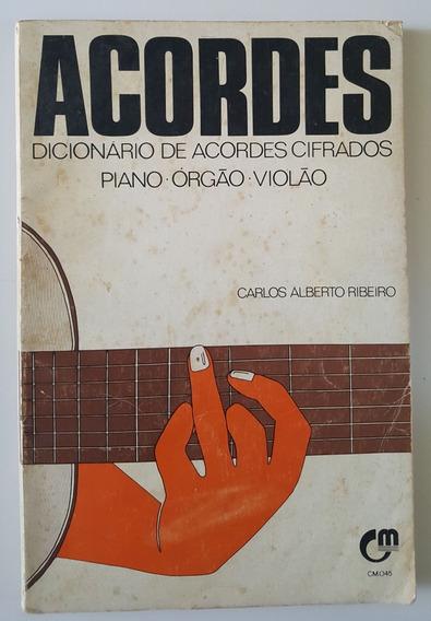 Dicionário De Acordes Cifrados Piano - Órgão - Violão
