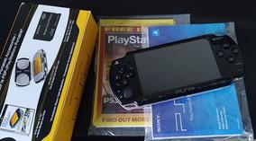 Sony Psp 2001 Desbloqueado Completo Na Caixa
