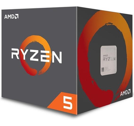 Processador Amd Ryzen 5 2400g Quad Core, Cache 6mb, 3.6ghz