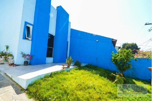 Villarinho Vende Ampla Casa Térrea  03 Dormitórios, 1 Suíte, 124 M² -terreno 300 M² -450.000,00 - Cavalhada - Porto Alegre/rs - Ca0439