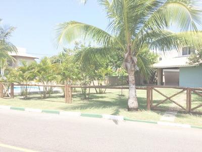 Casa Em Condomínio Residencial Em Camacari - Ba, Guarajuba - Ca01208