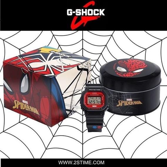 Relógio Casio G Shock Homem Aranha Dw-5600spider-
