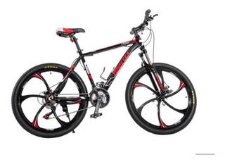 Bicicleta Merax Finiss 26 Alum 21 Vel, Llantas De Magnesio