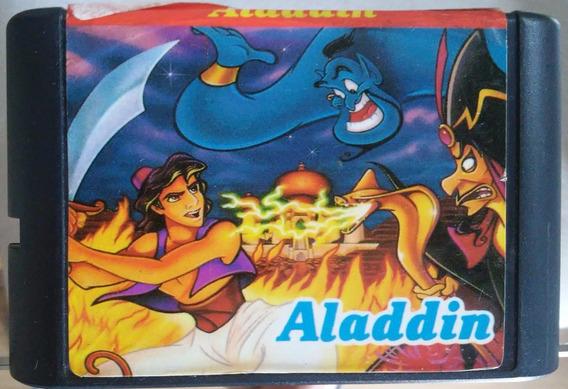 Cartucho Mega Drive - Jogo - Aladdin - Paralelo