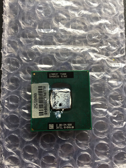 Processador Intel Core2 Duo T5800 2.00/2m/800