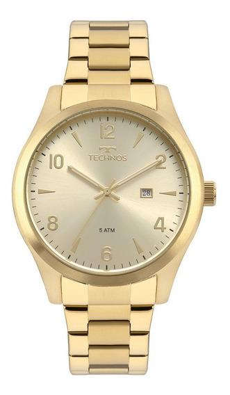 Relógio Technos Masculino Dourado Garantia Original Nf