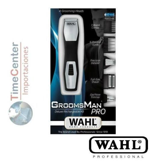Afeitadora Wahl Groomsman Pro Corrección De Bigote 9855-1216