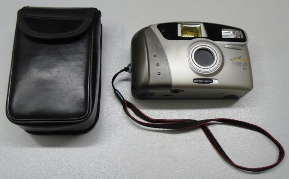 Câmera Máquina Fotográfica Antiga Mirage Titanium Bf