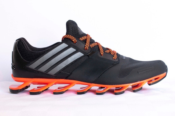 Tenis adidas Springblade Solyce Negro Naranja Caballero