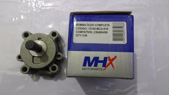 Bomba De Óleo Motor Honda Cb 400 450 Custon Tr Dx Sport
