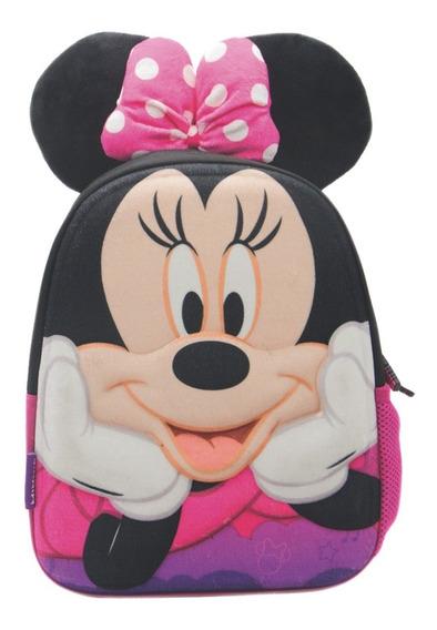 Mochila Espalda Jardin 3d Disney Minnie Mickey Mundo Manias