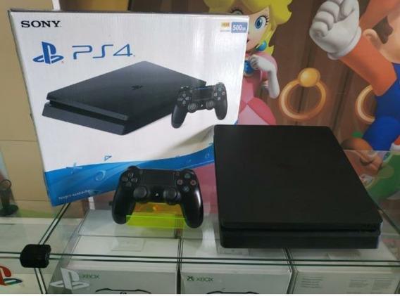 Playstation 4 Ps4 Slim 500gb Original + Controle