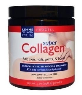 Super Colágeno Neocell Tipo 1 E 3, 198g