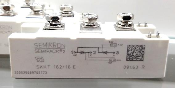 Lote 03 Un. Módulo Tiristor/diodo Skkt162/16e Semikron Novo