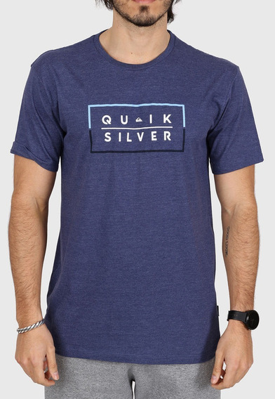 Remera Quiksilver Clued Up Mod Algodón